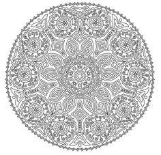 Mandala Coloring Page 24