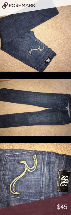 Rock & Republic jeans Dark washed, boot cut, great condition Rock & Republic Jeans Boot Cut