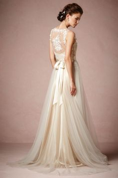 Onyx Gown from @BHLDN
