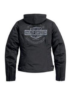 Harley Davidson Merchandise, Harley Gear, Biker Wear, Harley Davidson Sportster, Motorcycle Outfit, Biker Girl, S Pic, Outerwear Jackets, Jackets For Women