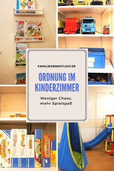 So bringst du Ordnung ins Spielzeugchaos You are in the right place about Home Diy Organizations ide Parents Room, Closet Organization, Organizing, Diy For Kids, Kids Bedroom, Storage Spaces, Baby Room, Family Room, Sweet Home