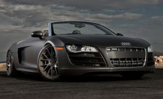 Mr Grey rolls in style with this Audi R8 Spyder. Check out more of his awesome rides by hitting the link...