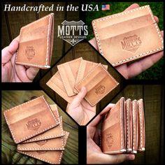 "Handcrafted ""Cargo"" Minimalist Front Pocket Wallet-SR"