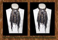 Native American Crafts, Native Style, Long Black, Chokers, Collection, Fashion, Moda, Fashion Styles, Fashion Illustrations