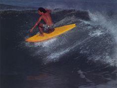Da Man Larry Bertleman styling 70s from Surfer magazine