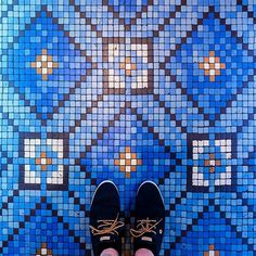 Photographer Documents the Unique Beauty of Colorful Floor Tiles in Paris - My Modern Met