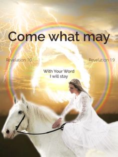 Come what may, with Your Word I will stay Revelation 10, Dark Horse, Horses, Movie Posters, Art, Art Background, Film Poster, Kunst, Performing Arts
