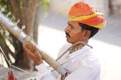 Photo by Shruti Kapoor - Royal Rajasthan Musician on the streets of Mehrangarh fort