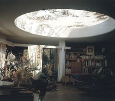 Moon to Moon: Round Ceiling Windows...