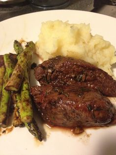 Balsamic, Rosemary and Garlic Kangaroo with Parsnip Mash | fastPaleo Primal and Paleo Diet Recipes