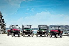 """New 2017 Kawasaki Mule SXâ""""¢ 4x4 SE ATVs For Sale in Minnesota. 2017 MULE SXâ""""¢ 4X4 SE SIDE X SIDE HAS A RUGGED NEW APPEARANCE AND ENHANCED COMFORT AND VERSATILITY. THIS DURABLE WORKHORSE COMES EQUIPPED WITH A TRAILER HITCH DRAWBAR, SUNBEAM RED BODY COLOR AND CAN EASILY FIT IN THE BED OF A FULL-SIZE PICKUP TRUCK. 401 cc air-cooled, 4-stroke; selectable 2WD / 4WD Steel cargo bed with textured floor is durable and scratch resistant Up to 1,100 lbs. of towing capacity and 400 lb. cargo bed…"""