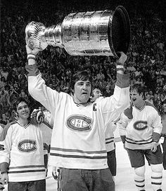 Serge Savard hoisting the Stanley Cup |  Montreal Canadiens | NHL | Hockey