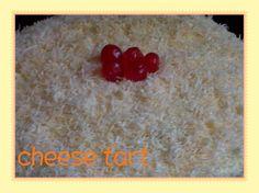 Strawberry jam put within the tart :)