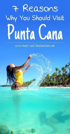 7 Reasons Why You Should Visit Punta Cana #Dominican Republic #travel