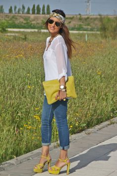 Looks con zapatos amarillos - Trendtation