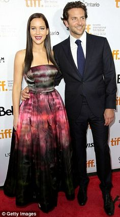 Jennifer Lawrence and Bradley Cooper at the Toronto International Film Festival this past weekend for the Silver Linings Playbook premiere.