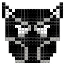 Bead Loom Patterns, Perler Patterns, Beading Patterns, Image Pixel Art, Pixel Pattern, Marvel Avengers, Melting Beads, Black Panther Marvel, Loom Beading