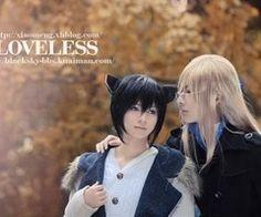 loveless   Tumblr Shounen Ai Anime, L Anime, Loveless, Anime Shows, Anime Cosplay, Gothic Lolita, Tv Shows, Animation, Costumes
