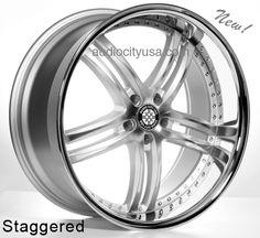 """20""""22"""" XIX Wheels Rims X15 Silver For Mercedes Benz Audi  #AudioCity"""