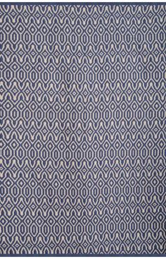 Abacasa 4733-5x8 Vintage Blue/White Area Rug