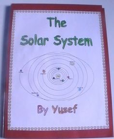 The solar system lapbook