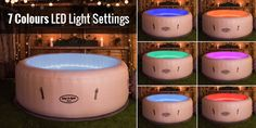 Are you getting your hot tub broken? Be careful to choose the hot tub parts for replacing it. The Coleman hot tub parts can be a choice for you. Lazy Spa, Bouncy Castle Hire, Spa Lighting, Hot Tub Backyard, Disco Lights, Outdoor Projects, Dog Bowls, Hot Tubs, Paris