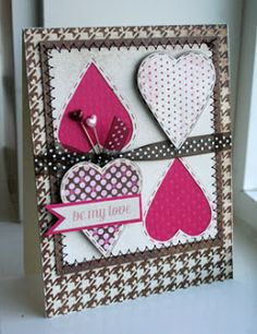 Wow, this week FLEW by. I think it's because of our pending excitement this weekend. Though, it seems like when you are waitin. Valentine Love Cards, My Funny Valentine, Valentines, Card Tags, I Card, Diy And Crafts, Paper Crafts, Winter Cards, Creative Cards