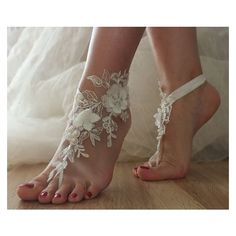 SANDALS beach shoes,bridal sandals, lariat sandals, wedding bridal,... ❤ liked on Polyvore featuring shoes, sandals, beach sandals, evening shoes, bridal shoes sandals, bride sandals and summer shoes