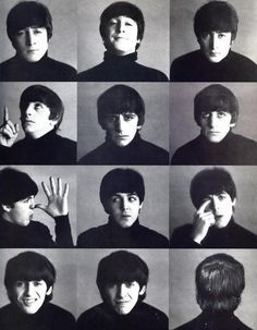 The many faces of the beatles