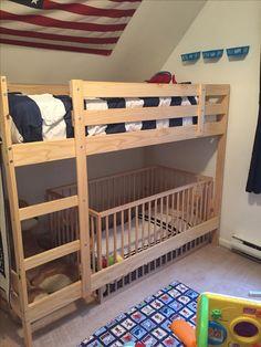 Preschool/Toddler Room Sharing Bunk Beds