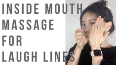 Inside of the mouth massage for reducing/preventing laugh/smile lines - Care - Skin care , beauty ideas and skin care tips Facial Exercises For Jowls, Neck Exercises, Yoga Facial, Facial Cupping, Botox Alternative, Laugh Lines, Face Massage, Facial Care, Face Skin