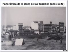 Plaza de las Tendillas en 1920