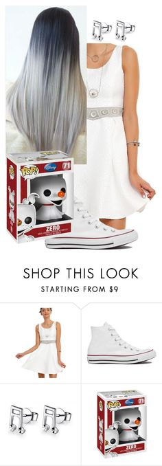 """""""Untitled #555"""" by xxsilentsilverxx ❤ liked on Polyvore featuring Converse, MaBelle and Disney"""