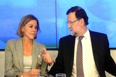 Cospedal no está dispuesta a depender, jerárquicamente de la vicepresidenta del Gobierno, Soraya Sáenz de Santamaría.