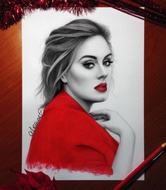 Mesmerizing Celebrities Portrait Drawings by Aleex Manole —
