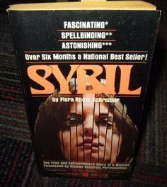 SYBIL BY FLORA RHETA SCHREIBER, PRINT 1974 PAPERBACK READ, TRUE STORY, GUC