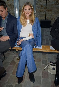 Olivia Palermo attends the Paul Joe show as part of the Paris Fashion Week Womenswear Spring/Summer 2017>> on October 4 2016 in Paris France