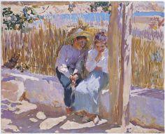 Idyll, Javea, 1900 - Joaquin Sorolla y Bastida (Spanish, 1863-1923)