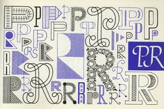Embroidery type design from the book, A Handbook of Lettering for Stitchers by Elsie Svennas. Download a PDF at Public Collectors at http://www.publiccollectors.org/PDFs%20of%20Books%202010/Handbook_of_Lettering.pdf #embroidery #sampler #handbook_of_lettering