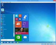 How to install Windows 10 Technical Preview as a virtual machine By Brian Burgess 10/21/14 Windows 10 Tech Preview running on VirtualBox