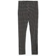 Zara Cropped Bell Bottom Trousers (1 060 UAH) ❤ liked on Polyvore featuring pants, capris, bellbottom pants, zara pants, cropped trousers, cropped capri pants and zara trousers