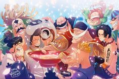 Anime One Piece Portgas D. Ace Marco (One Piece) Curiel (One Piece) Haruta (One Piece) Edward Newgate Fossa (One Piece) Thatch (One Piece) Izo (One Piece) Rakuyo (One Piece) Fondo de Pantalla One Piece Wallpapers, One Piece Wallpaper Iphone, Images Wallpaper, Animes Wallpapers, Wallpaper Backgrounds, Ace One Piece, One Piece Luffy, Manga Anime, Anime One