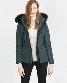 Image 2 of QUILTED COAT from Zara
