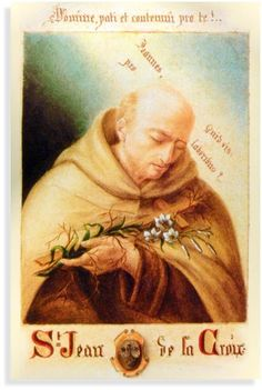 St. John of the Cross painted by St. Therese of Lisieux's sister Pauline (St. Agnes of Jesus)
