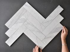 Perth Tumbled Carrara Look Matt Subway Tile Concrete Look Tile, Marble Look Tile, Stone Look Tile, Marble Porcelain Tile, Ceramic Wall Tiles, Carrara Marble, Best Bathroom Tiles, Hexagon Mosaic Tile, Splashback Tiles