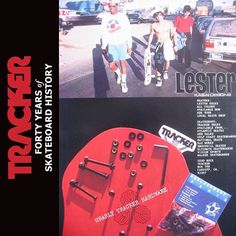 #lesterkasai #trackertrucks ad 1987. Forty years of skateboard history