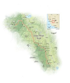 Up in the High Sierra Mountains, my college roommate and I hiked the  211-mile John Muir Trail over 3 weeks. The beauty we came to find was truly  magnificent and brought a whole new meaning to my life as a California  girl.