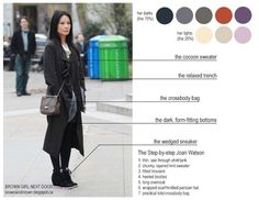 """Elementary's Joan Watson's (Lucy Liu) fashion style. After each episode I catch myself thinking """"OMG I WANT HER STYLIST! Or wardrobe. Or preferably both.""""."""