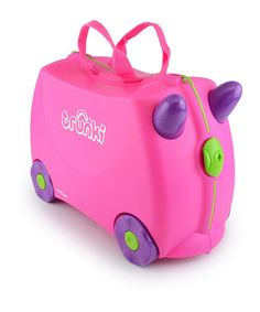 Take a look at this Trixie The Trunki by Trunki on #zulily today! Saw them ait the airport in Spain...great for kids when they are tired and have to wait (y)