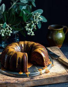 Bundt cake poire et dattes